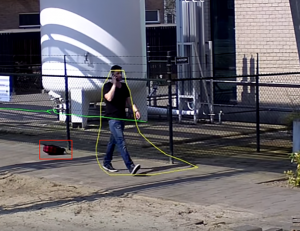 Video Analytics: gallery image: 2-bosch idle object