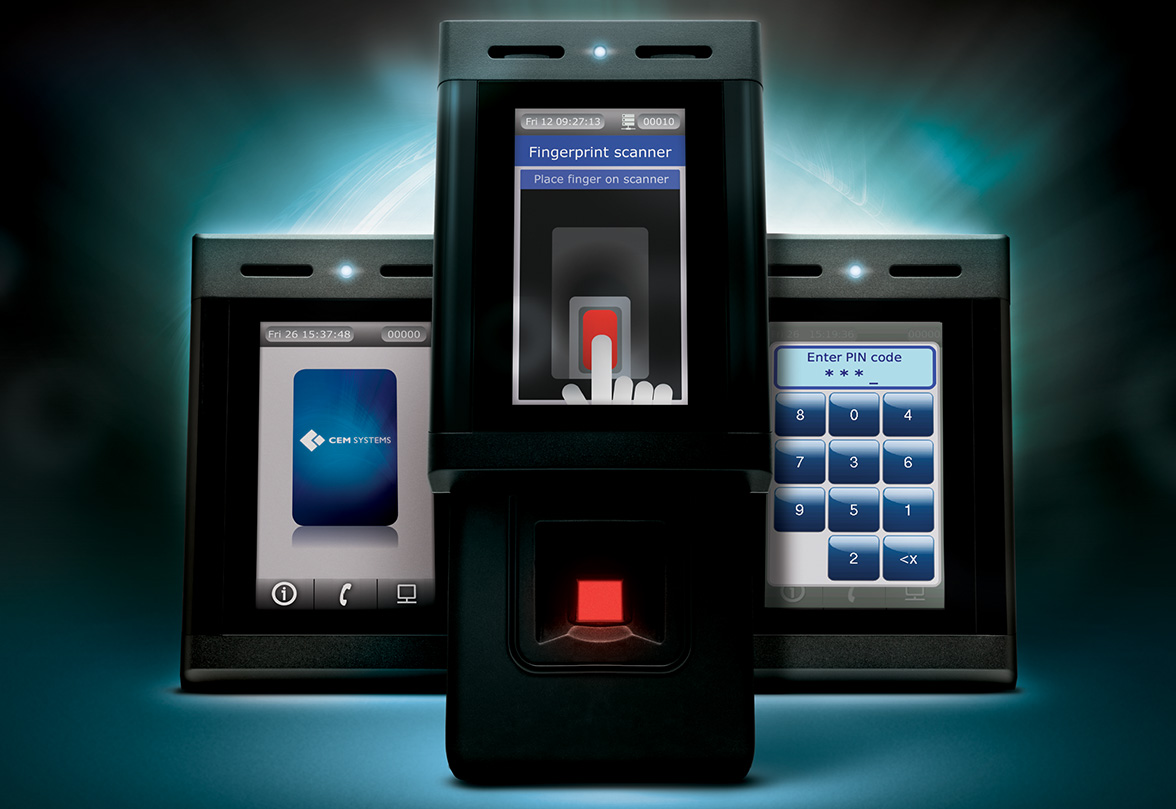 Card And Biometric Door Entry Systems
