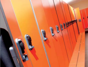 Access Control Systems: gallery image: access lockers
