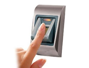 biometric fingerprint access security door