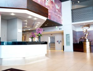 Business Music Systems: gallery image: business-music-system-installed-in-a-hotel-lobby