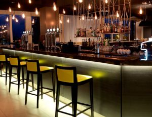 Business Music Systems: gallery image: business-music-systems-bar-at-night