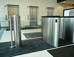 visitor access control gate system