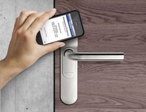 wireless access control smart phone system